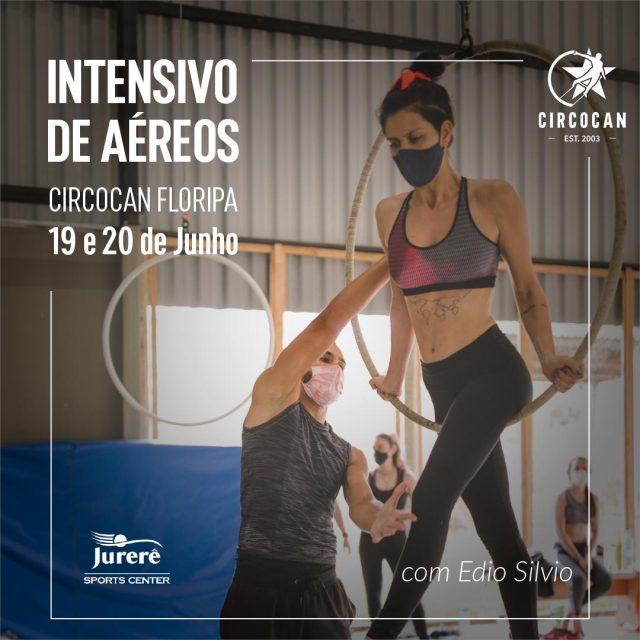 Circocan Floripa promove Curso Intensivo de Aéreos no Jurerê Sports Center